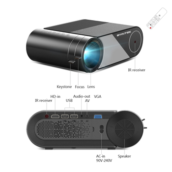Portable Video Beamer LED Projector 17