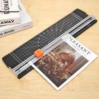 Plastic Base Paper Trimmer with Scale A4 Paper Card Art Trimmer DIY Scrapbooking Photo Cutter Cutting Mat Tools