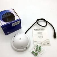 Nuevo ultraancho ángulo IR 940nm invisible lámparas de luz de 5 LED IR iluminador infrarrojo IR Luz de visión nocturna para cámara CCTV de seguridad