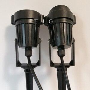 Уличный светодиодный светильник для сада и лужайки, 9 Вт, Ландшафтная лампа, водонепроницаемая, DC12V, лампа, теплый белый, зеленый, точечный св...