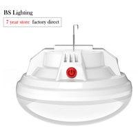 Luz LED colgante de noche de alta potencia para exteriores, lámpara de bola de emergencia resistente al agua, linterna inalámbrica recargable por USB para estanques, Camping