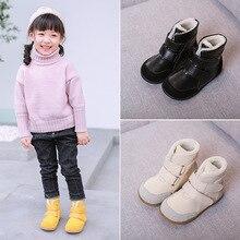 Новинка; зимняя обувь из толстого хлопка; мужские и женские зимние ботинки из натуральной кожи; теплые бархатные ботинки