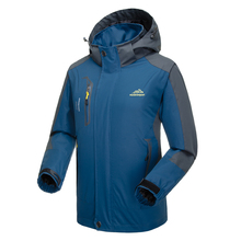Lixada верхняя ветровка для альпинизма водонепроницаемая куртка ветрозащитный плащ Спортивная одежда для велоспорта Спортивная Съемная куртка с капюшоном для мужчин