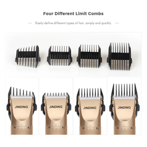Image 4 - JINDING Professional Hair Trimmer Men&women Electric Haircut Machine Rechargeable 110 240v 5h Cordless Clippers