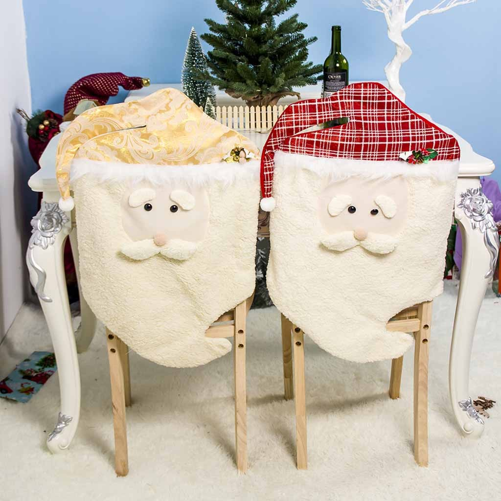 New Year Hot Christmas Chair Covers Spandex Christmas Snowman Table Decoration Stool Cover Housse De Chaise Coprisedie A30912 Chair Cover Aliexpress
