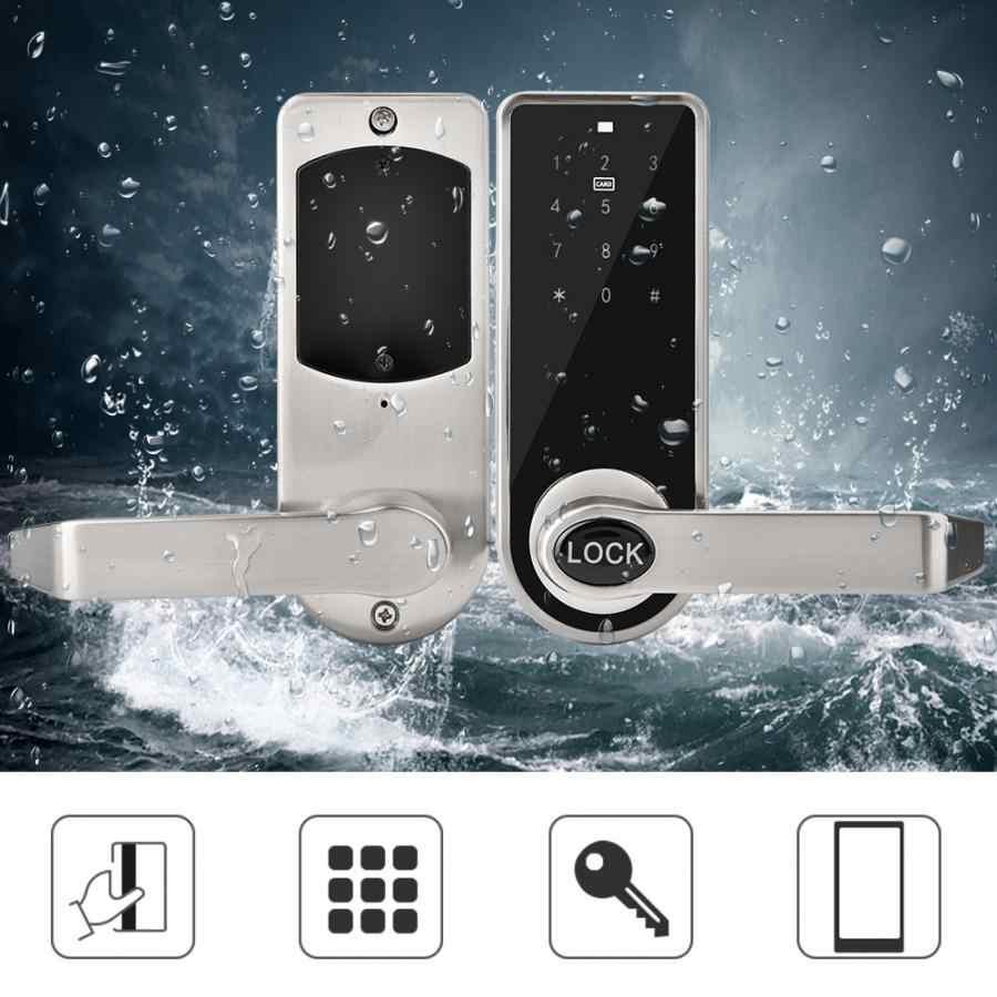 App Smart BT serrure de porte électronique Code tactile mot de passe sécurité serrure de porte intelligente