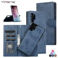 Custodia in pelle A52 A72 per Samsung Galaxy S21 S20 FE Ultra S10 S9 S8 nota 20 10 9 8 Plus Lite A21S A51 A71 A81 porta carte di credito