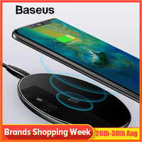 Baseus Special Design 10W Qi Wireless Charger For Huawei P30 P30 Pro Fast Wireless Charging Pad For Mate 20 /20 Pro Samsung S10
