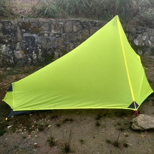 Image 3 - 3F UL Gear Rodless Tent Ultralight 15D Silicone Single Person Camping Tent 1 Person 3 Season With Footprint 3 Colors