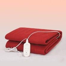 Double Warming Blanket Electric Flanel Single Electric Blanket Heating Thermostat Elektrische Deken Heated Mattress Pad EA6DRT