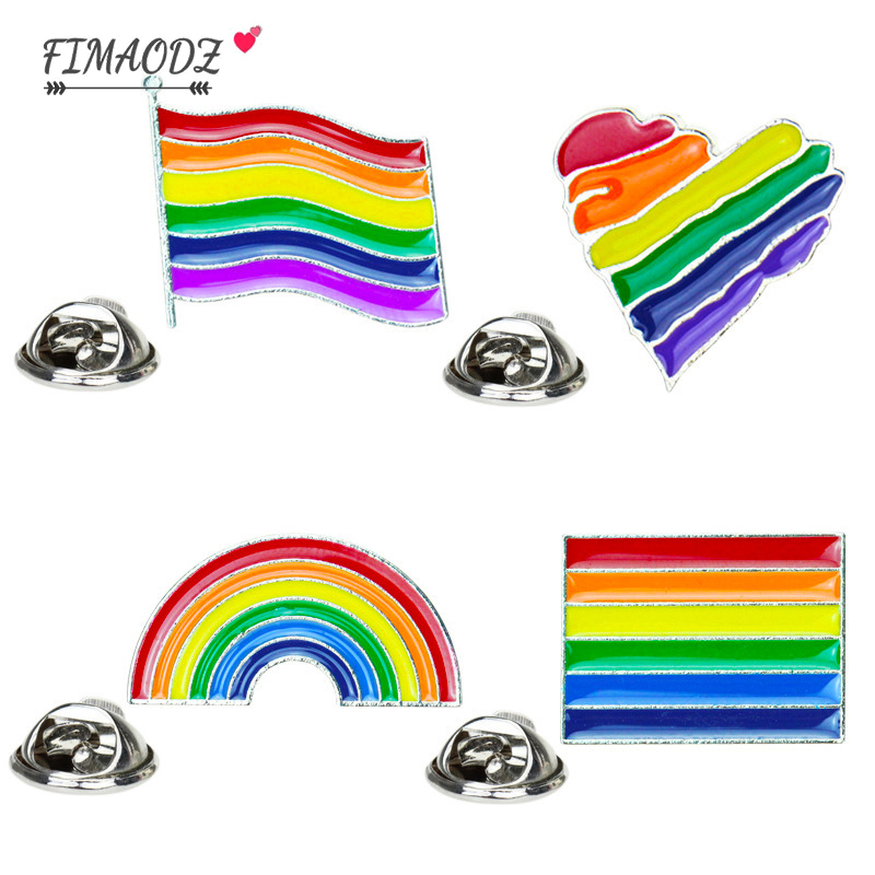 lgbt gift Gay pride pin rainbow flag