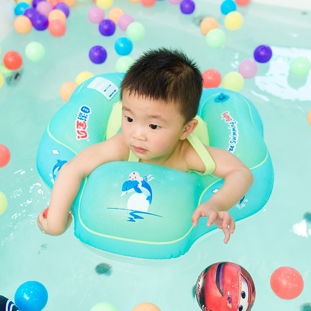 Portable Baby Cartoon Inflatable Swimming Rings Baby Accessories Eco-friendly Swimming Circle Baby Float Swim Pool Float Boat