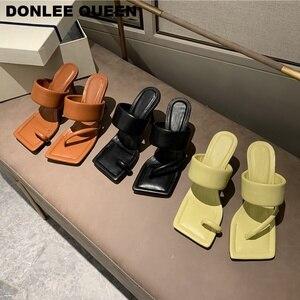 High Heels Sandals Slippers Wo