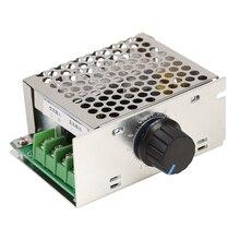 500W AC 220V Brush Motors Speed Controller DC 10-210V Voltage Dimmer Regulator Module