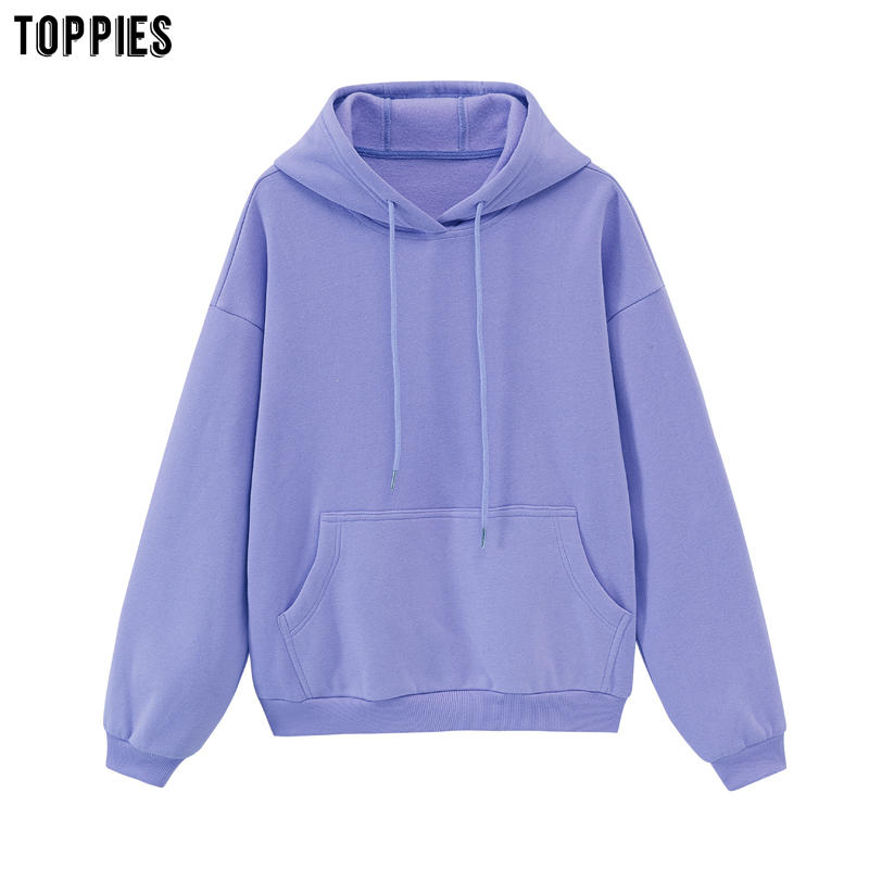 Hoodies Sweatshirts Winter Clothes Toppies Womens Fleece Korean