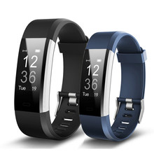 Onleny ID115 HR Smart Gelang Kebugaran Tidur Tracker Pedometer Monitor Detak Jantung Smart Band Gelang(China)