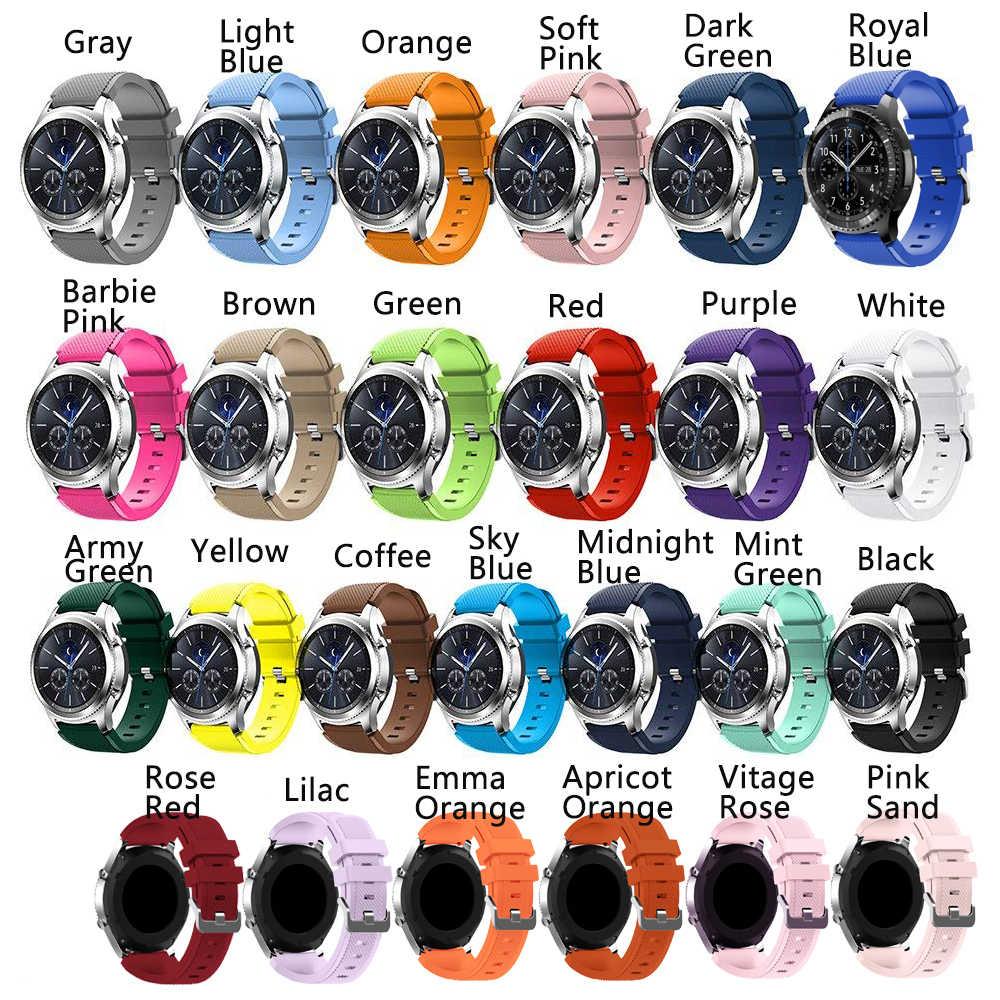 20 22 Millimetri Cinturino per Samsung Galaxy Orologio 46 Millimetri 42 Millimetri Attivo 2 Gear S3 Frontier Cinghia Huawei Watch gt 2 Cinghia di Amazfit Bip 47 44