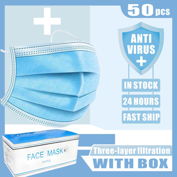 10-100 pcs Family Masks for Children and Adults 3 layers mascarillas mascherine reusable Bacteria Proof Flu Mouth Face Masks flu