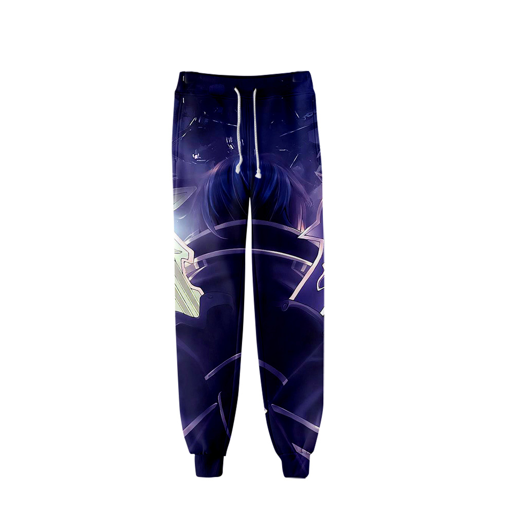 Anime 3D Sword Art Online Alicization Pant Cartoon Trouser Men Sweatpant Japan SAO World Jogger Harajuku Streetwear 2019