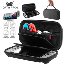 DATA FROG For Nintend Switch Case Protective Storage Bag For Nintendo Switch NS Console Travel Waterproof Carrying Cases yuxi soft portable bag nintend switch carrying game storage case protector for nintendo switch ns console