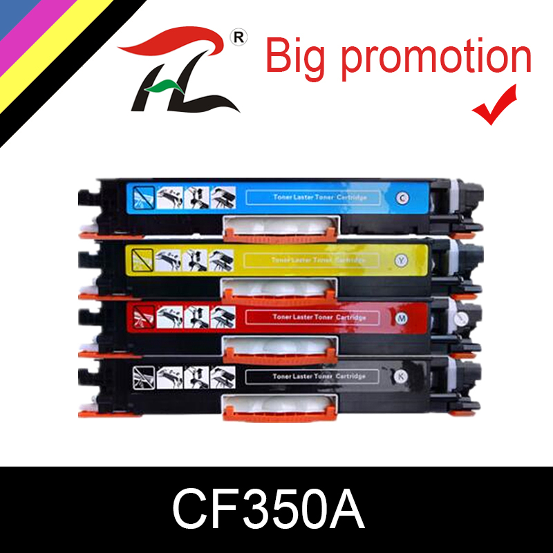HTL Toner Cartridge CF350A 350A CF351A CF352A CF353A 130A Comptible For Hp Color LaserJet Pro MFP M176n M176 M177fw M177