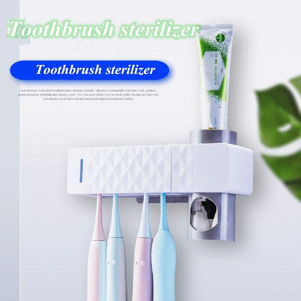 5 Esterilizador Cepillo de dentes Accesorios Para baño Dispensador De Massa