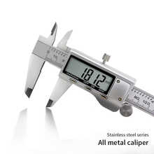 デジタルノギスステンレス鋼新着 150 ミリメートル 6 インチ液晶デジタル電子ノギス測定ツール