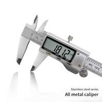Digital Caliper Stainless Steel Electronic Digital Vernier Caliper 6 Inch 0-150mm Factory Price Free Shipping One Piece