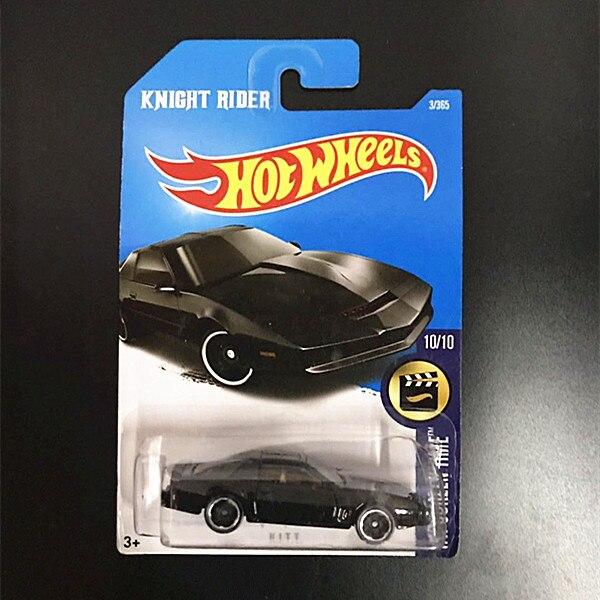 HOTWHEELS Mattel HOTWHEELS Small Sports Car Alloy Car Movie Knight Rider Kit Sports Car K.I.T.T.
