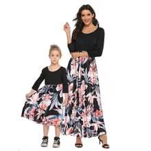 Новинка 2020 года; Эксклюзивное Платье для родителей и ребенка;
