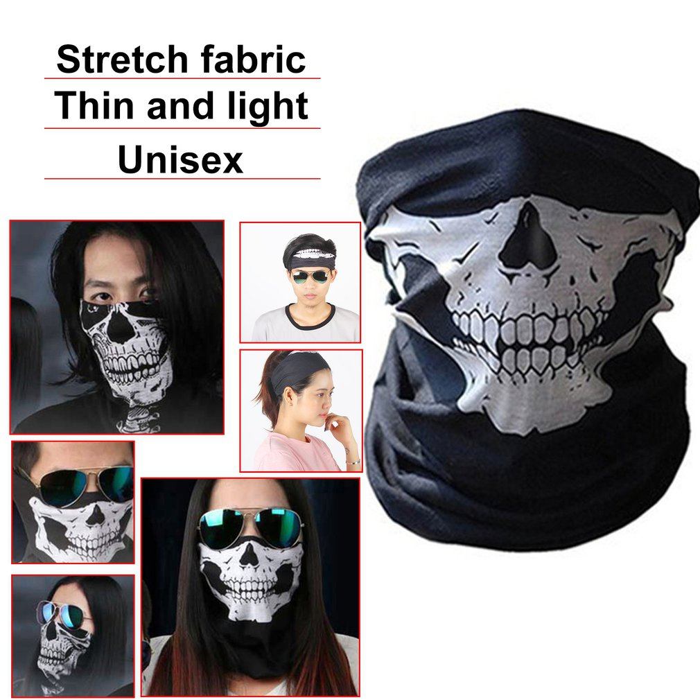 Fashion Printed Cool Sport Cycling Mask Anti-dust Windproof Neck Guard Scarf Bike Bicycle Riding Face Mask