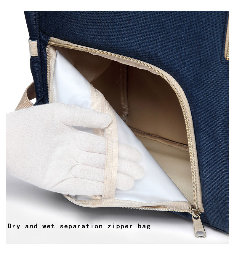 H0817330faf564604ba16c4a9d255172fV Fashion Mummy Maternity Nappy Bag Waterproof Diaper Bag With USB Stroller Travel Backpack Multi-pocket Nursing Bag for Baby Care