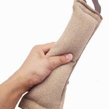В стиле милых собачек, забавные буксир укуса Интерактивная тренировочная жевательная игрушка Ручка палка стержень жевательная игрушка для собак Укус игрушка собака животное кошка для дрессировки 9,5*30 см