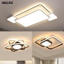 Arañas LED modernas para sala de estar, luminarias para dormitorio, cocina, candelabro LED montado en el techo, lámpara de araña