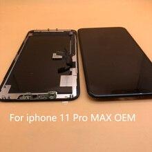 นุ่มOLED A + LCDสำหรับiPhone X Xs Max XR GXจอแสดงผลLCDหน้าจอสัมผัสDigitizer Replacement AssemblyสำหรับIphone11 11 Pro Max