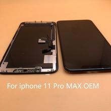 قطع غيار OLED + LCD ناعمة لهاتف iPhone X xs Max XR GX شاشة LCD تعمل باللمس مع محول رقمي مجمع بديل لجهاز iphone11 11 pro max