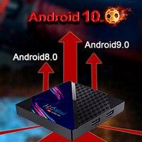 Dispositivo de Tv inteligente H96 Mini, decodificador con dispositivo de Tv inteligente, WIFI, Android 8, 9, 10, H616, cuatro núcleos, 4K, 8K, 1080P, IPTV, 16gb, 32 gb, 64gb de Rom, compatible con Youtube