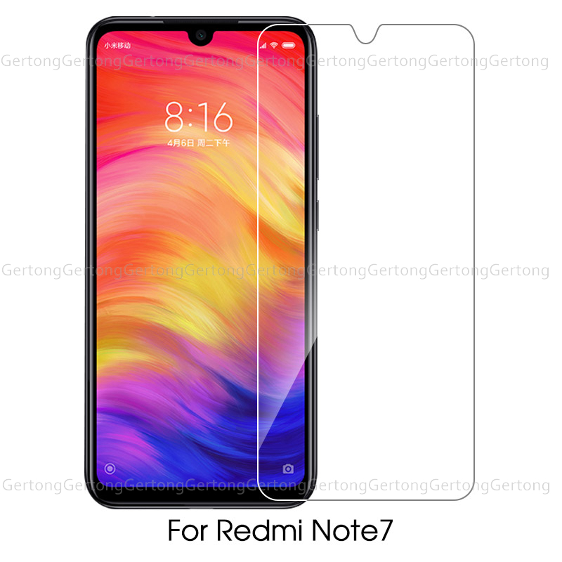 Screen Protection Shockproof Tempered Glass For Xiaomi Redmi K20 Pro Note 7 7A For Xiaomi Mix 2s For Xiaomi Mi 9T Pro Clear Film