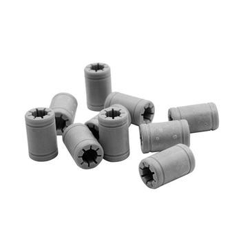 10Pcs Plastic 8 Mm Linear Anet Bearing Same As Rj4Jp-01-08 Ball Bearing For Anet A8 Prusa I3 3D Printer