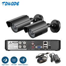 720P HDMI AHD CCTV DVR 1.0MP IR 야외 보안 카메라 DIY 16CH CCTV 시스템 1200 TVL 금속 주택 카메라 감시 키트