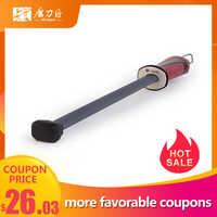 V-SAN tige d'affûteuse de couteau de cuisine professionnelle avec poignée confortable outil d'affûtage haute performance en céramique-TV1703
