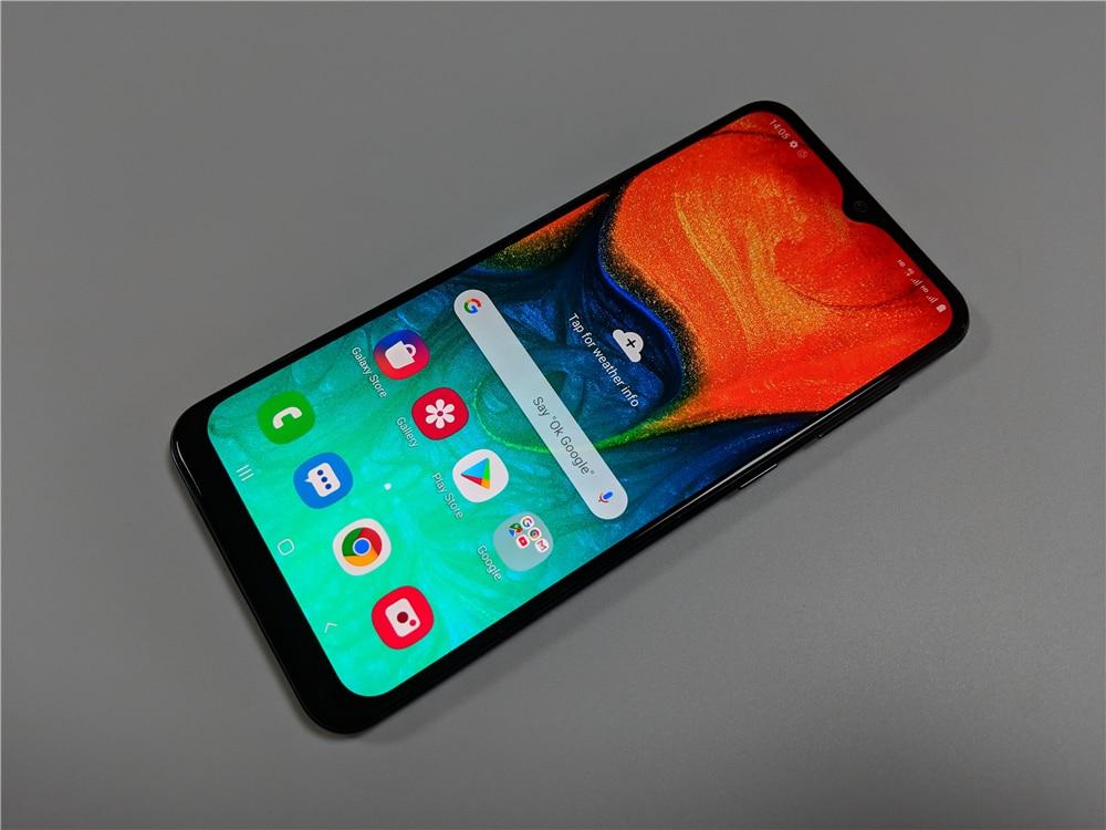 Samsung Galaxy A30 A305F/DS 6,4», мобильный телефон, 4GB 64GB Восстановленный-99% новый мобильный телефон 26 МП 5 Мп с двумя sim-картами