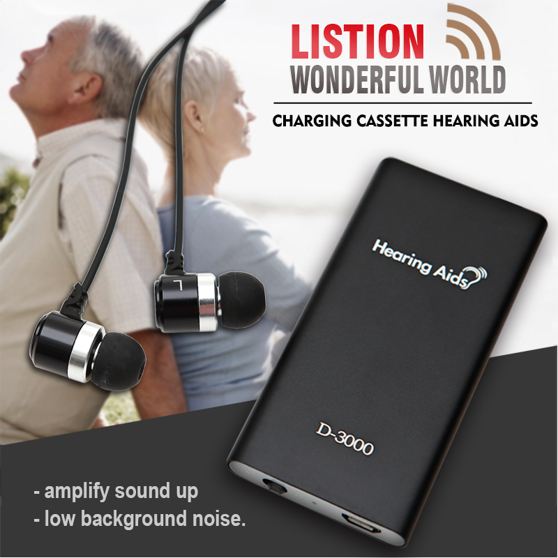 Hearing Aid Rechargeable Ear Sound Amplifier For Elderly Cassette Hearing Aids China Adjustable Tone Digital Aid Ear Care Device