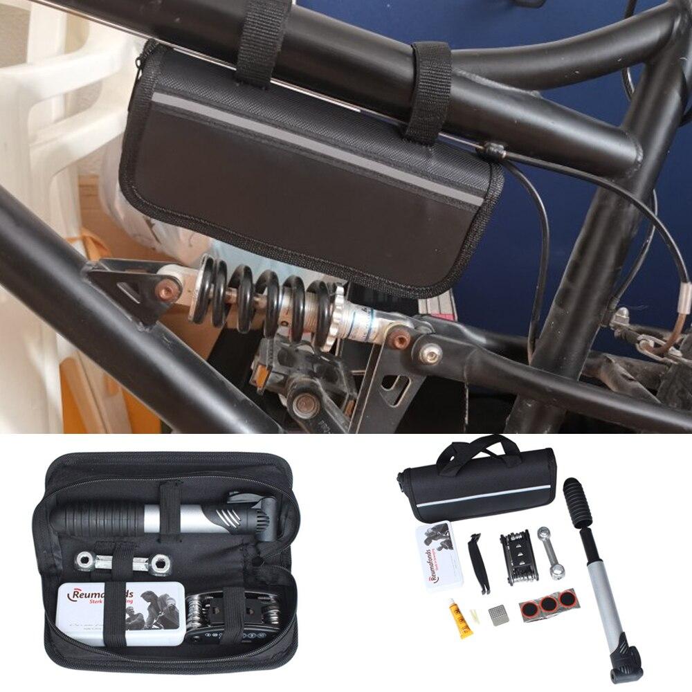 Outils universels de réparation de vélo Kits de sac de selle pour vélo Topeak crevaison pneu montagne Cycle ensemble d'outils Multitool