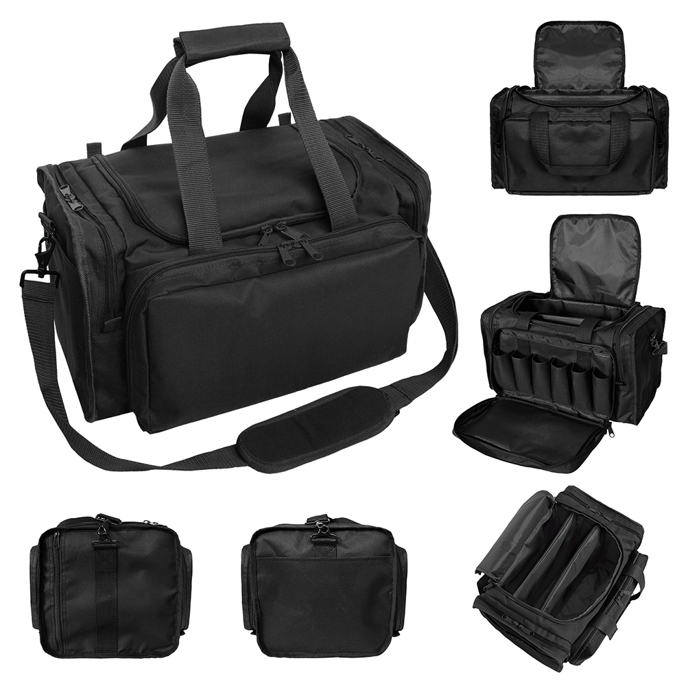Tactical Pouch Nylon Shooting Range Bag Shoulder Travel Bags Outdoor Multifunctional Tactical Pouches Military Gear Pouch