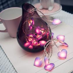 10/20/40 светодиодный «любящее сердце» Свадебные гирлянды светильник праздничный светильник ing для рождественской вечеринки Спальня домашний...