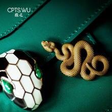 Coppertistwu брелок в виде змеи ожерелье dope Мужская цепочка