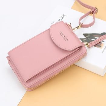 2021 Women Wallet Famous Brand Cell Phone Bags Big Card Holders Handbag Purse Clutch Messenger Shoulder Long Straps Dropshipping