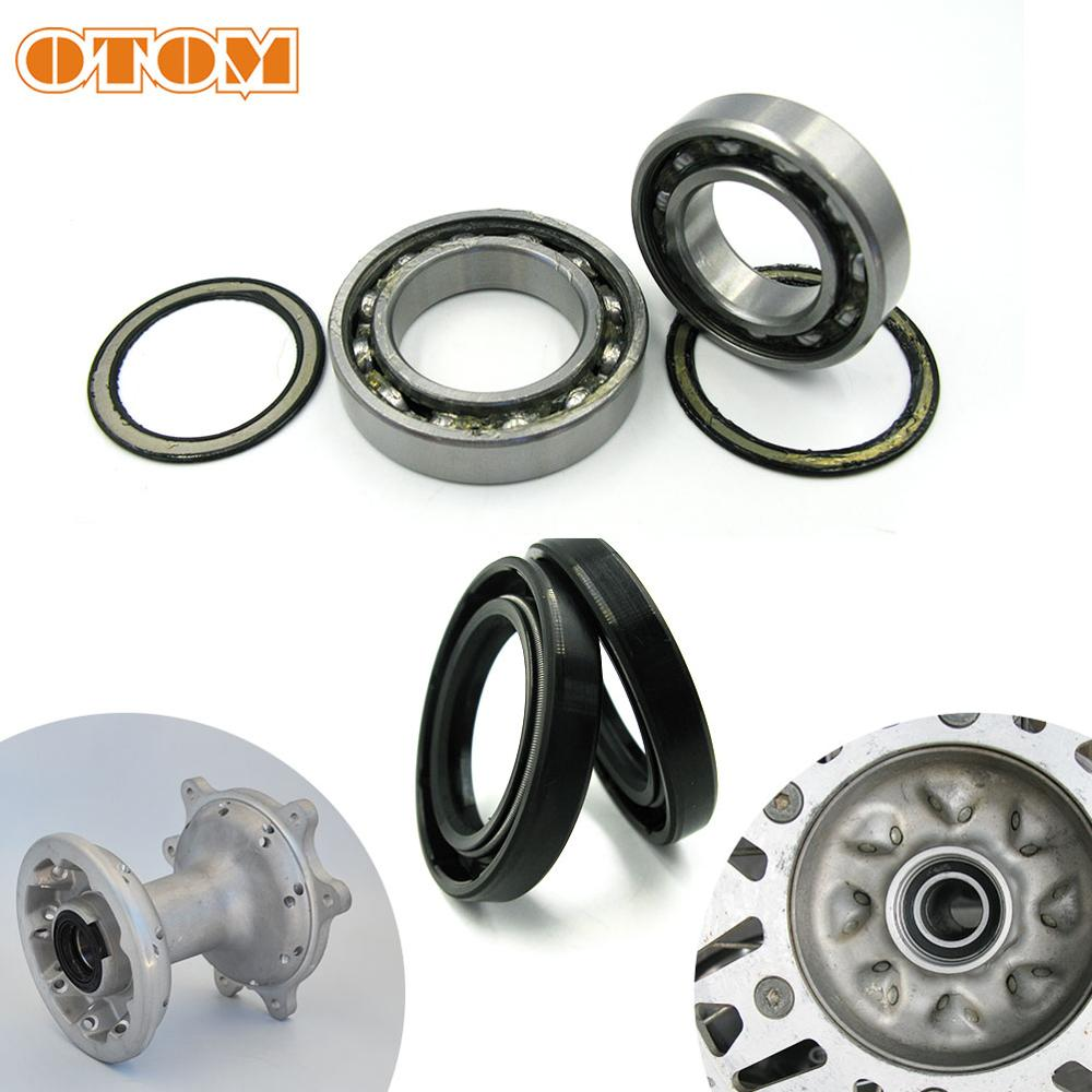 OTOM For HONDA CRF250R CRF450R CRF250X CRF450RX Motorcycle Front Rear Wheel Hub Oil Seal Bearing Set