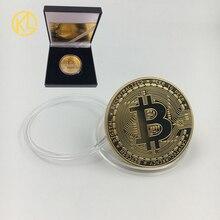Бесплатная доставка, 36 дизайнов, Биткоин BTC /Ada/криптоэфириум эфирный эфир/Dash/DeogeCoin, коллекция невалютных монет с хорошей подарочной коробкой